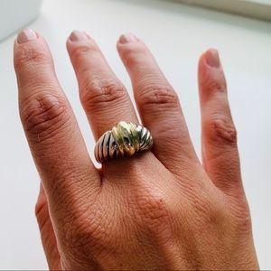 David Yurman Two Toned Albion Ring